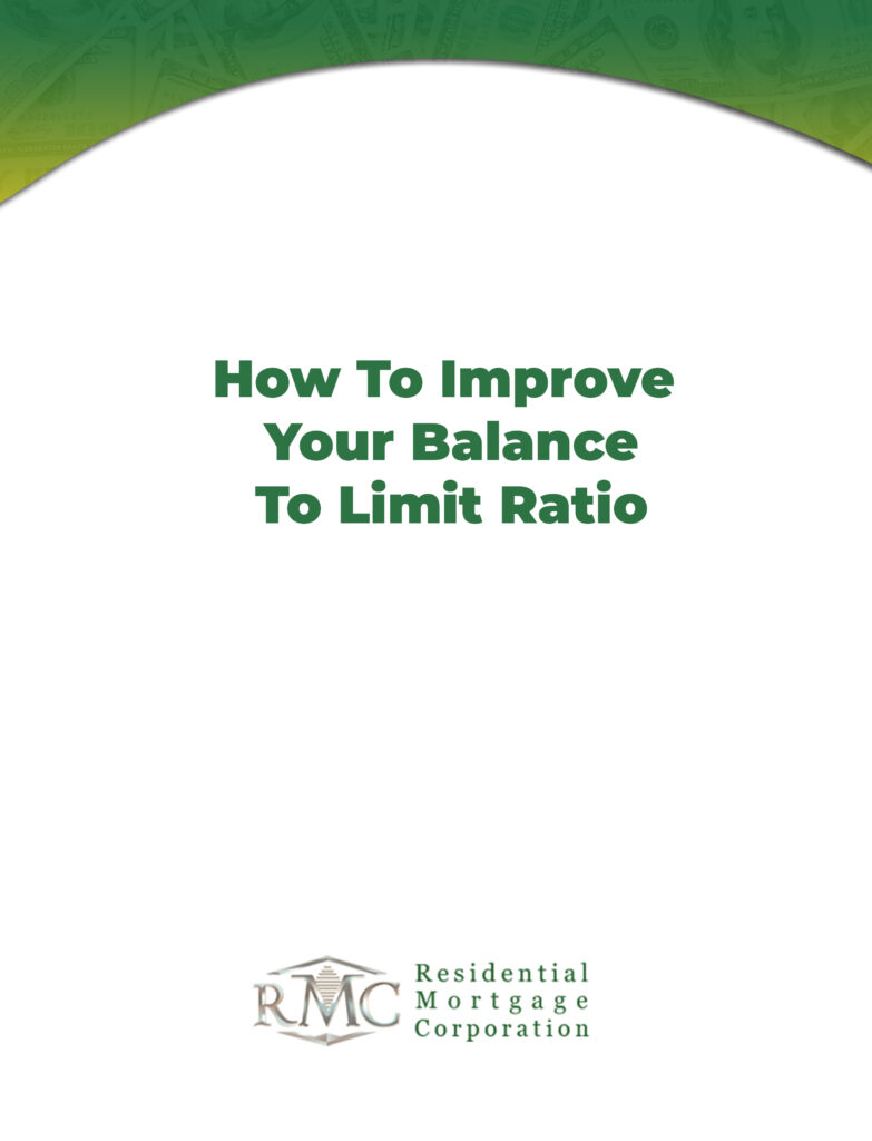 How to limit your balance to limit ratio