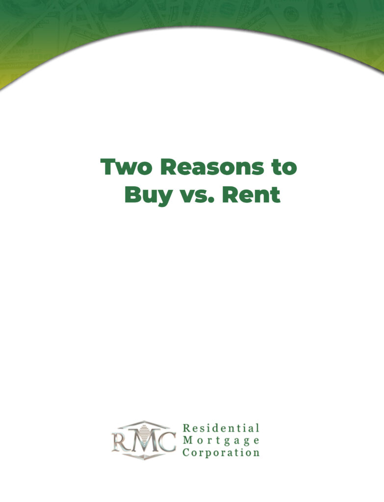 two reason to buy vs rent